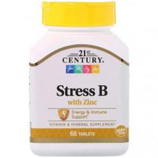 Витаминно-минеральный комплекс 21st Century Stress B with Zinc 66 таблеток