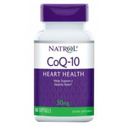 Natrol CoQ-10 50 60 капсул