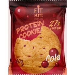Печенье Fit Kit Protein Cookie 24 40 г, 24 шт., кола