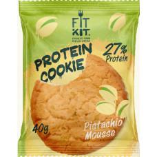 Печенье Fit Kit Protein Cookie 24 40 г, 24 шт., фисташковый мусс