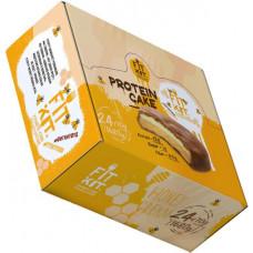 Печенье Fit Kit Protein Cake 24 70 г, 24 шт., медовый крем