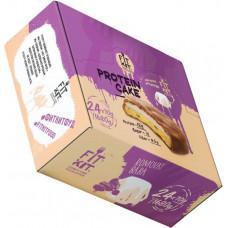 Печенье Fit Kit Protein Cake 24 70 г, 24 шт., ромовая баба