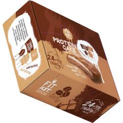 Печенье Fit Kit Protein Cake 24 70 г, 24 шт., шоколад/кофе