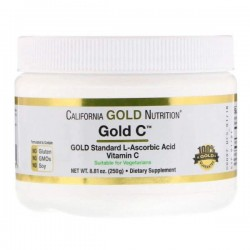 Витамин C California Gold Nutrition C Powder 250 г