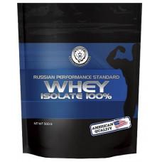 Изолят сывороточного белка RPS Nutrition Whey Isolate 100% - ваниль, 500 г