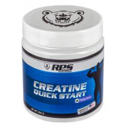 Креатин RPS Nutrition Creatine Quick Start - виноград, банка 300 г