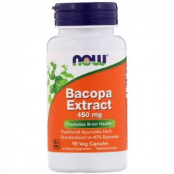 Now Bacopa Extract 90 капсул