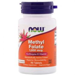 Фолиевая кислота NOW Methyl Folate 1000 90 таблеток