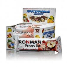 Батончик Ironman 32 Protein Bar 12 50 г, 12 шт., пралине с клубникой