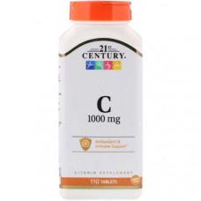 Витамин C 21st Century Vitamin C 1000 mg 110 таблеток