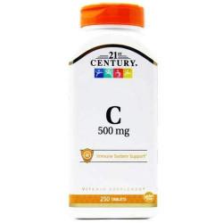 Витамин C 21st Century Vitamin C 500 mg 250 таблеток