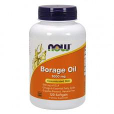 NOW Borage Oil 1000 мг - 120 капсул - масло огуречника - бурачника Омега-6 жирные кислоты