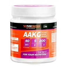 PureProtein L-аргинин AAKG 200 г яблоко