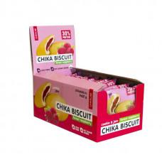 Печенье Chikalab Chika Biscuit 9 50 г, 9 шт., лесная малина