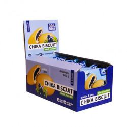 Печенье Chikalab Chika Biscuit 9 50 г, 9 шт., черная смородина