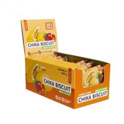 Печенье Chikalab Chika Biscuit 9 50 г, 9 шт., яблочный штрудель