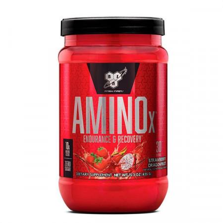 BSN аминокислотный комплекс Amino X 1010 г, 70 порций клубника/апельсин