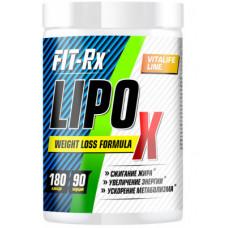 Жиросжигатель FIT-Rx Lipo X 180 капсул