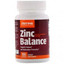 Медь, цинк Jarrow Formulas Zinc Balance 100 капсул