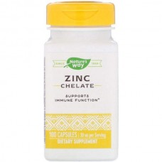 Цинк Nature's Way Zinc Chelate 100 капсул