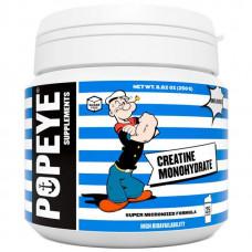 Креатин Popeye Supplements Creatine Monohydrate - 250 грамм, без вкуса