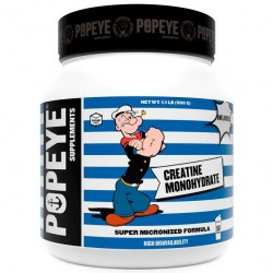 Креатин Popeye Supplements Creatine Monohydrate - 500 грамм, без вкуса