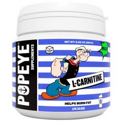 Popeye Supplements L-карнитин тартрат 250 г, мохито
