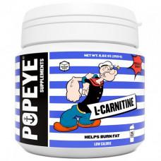 Popeye Supplements L-карнитин тартрат 250 г, цитрусовый микс