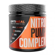 Предтренировочный комплекс OptiMeal Nitro Pump Complex 210 г апельсин