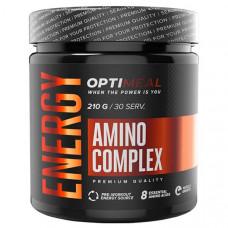 OptiMeal аминокислотный комплекс Energy Amino Complex 210 г клубника