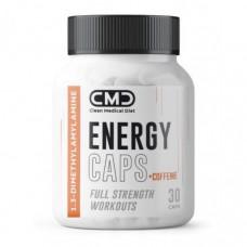 Предтренировочный комплекс CMD Flash Energy 50 mg + Caffeine 100 mg 30 капсул без вкуса