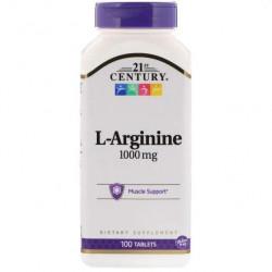21st Century L-Arginine 1000 mg без вкуса