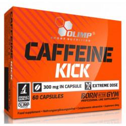 Энергетик Olimp Caffeine Kick 60 капсул, без вкуса