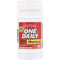 Витаминно-минеральный комплекс 21st Century One Daily Maximum 100 100 таблеток