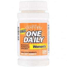 Витаминно-минеральный комплекс 21st Century One Daily Women's 100 100 таблеток