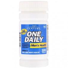 Витаминно-минеральный комплекс 21st Century One Daily Men's Health 100 100 таблеток