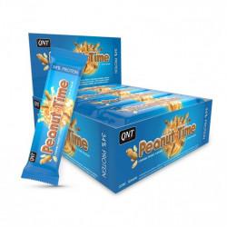 Батончик QNT Peanut Time 12 60 г, 12 шт., caramel/peanut