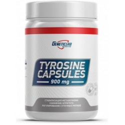 GeneticLab Nutrition Tyrosine 900 30 капсул