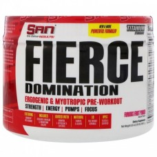 Предтренировочный комплекс SAN Fierce Domination 250 г малиновый лимонад