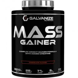 Гейнер GALVANIZE Mass Gainer 3000 г вкус : Ваниль -  Vanilla
