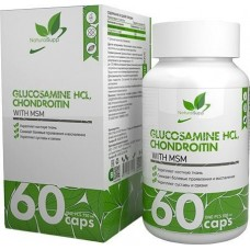 Glucosamine Chondroitin MSM NaturalSupp 60 капсул unflavored