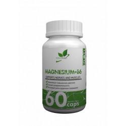Витамин B6 + магний NaturalSupp Magnesium + B6 60 капсул