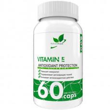 Витамин E NaturalSupp 60 капсул