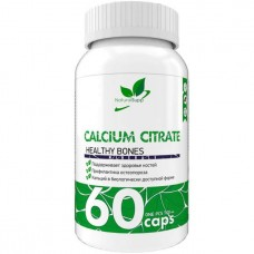 Кальций NaturalSupp Calcium Citrate 60 капсул
