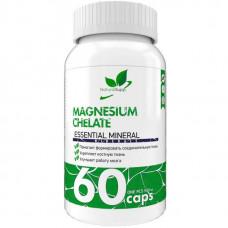 Магний NaturalSupp Magnesium Chelate 60 капсул