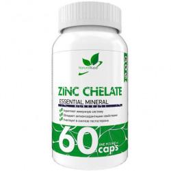 Цинк NaturalSupp Zinc Chelate 60 капсул