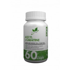 NaturalSupp Ацетил l-карнитин 60 капсул unflavoured