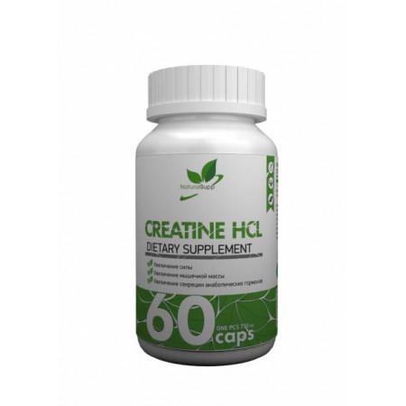 Креатин гидрохлорид NATURALSUPP Creatine HCL - 60 капсул