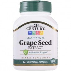 21st Century Grape Seed Extract 60 капсул