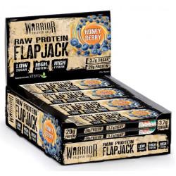 Батончик Warrior Raw Protein Flapjacks 12 0.08 г, 12 шт., honey berry